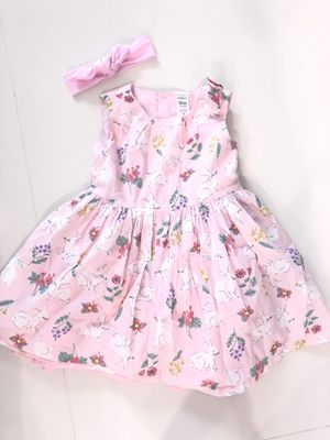 Pink baby girl dress. 18m. Vestido de niña. 18 meses. Ropa de niños. Kids clothes. for Sale in Miami, FL