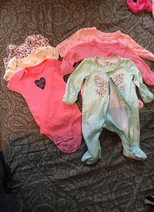 Newborn baby clothes bundle for Sale in Bellaire, TX