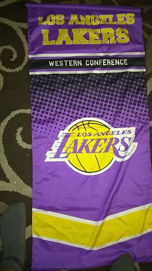 Los Angeles lakers flag for Sale in Sanger, CA