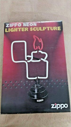 Zippo 3-D NEON Lighter Sculpture - NIB for Sale in Affton, MO