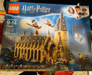 Harry Potter Legos Hogwarts Great Hall 878 pieces (BRAND NEW/NEVER OPENED) for Sale in Plano, TX