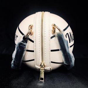 Basketball handbag one shoulder small bag new messenger shaped mini bag for Sale in Fort Lauderdale, FL
