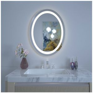 Bathroom Wall Mounted Mirror with High Lumen Adjustable Color Temperature Anti Fog Dimmer Function Waterproof for Sale in Las Vegas, NV