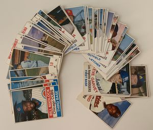 52 Different 1970s Hostess Baseball Cards with Stars for Sale in Brea, CA