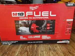 Milwaukee m18 fuel drain cleaner for Sale in San Jose, CA
