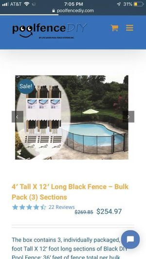 Brand new pool fence for Sale in Georgetown, TX