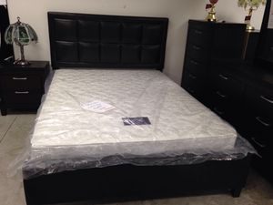 New bed frame + mattress ( only) for Sale in Hyattsville, MD