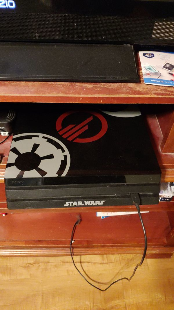 1 tb Star Wars edition PlayStation 4