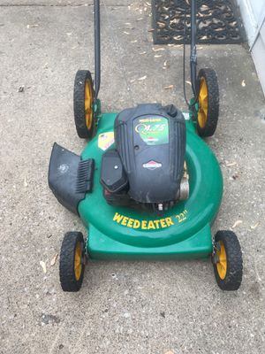 Weed eater lawn mower 4.75 horsepower Briggs and Stratton for Sale in Cleveland, OH