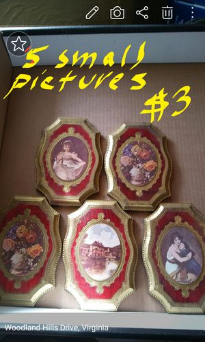 5 small pictures for Sale in Harrisonburg, VA