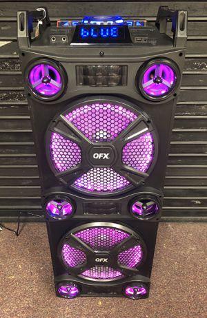 Bluetooth speaker 🔊 karaoke 🎤 for Sale in Alexandria, VA
