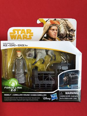 Star Wars Solo Force Link 2.0 action figures for Sale in Miami Beach, FL