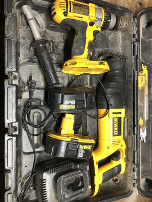 DeWalt saw and drill for Sale in Valley Center, CA