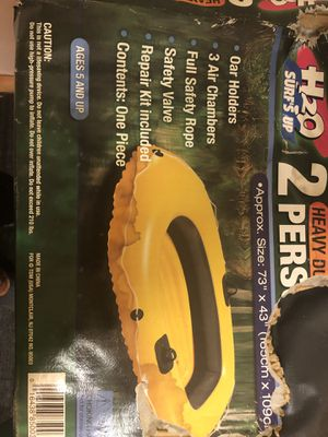 2 person inflatable boat for Sale in Lower Burrell, PA