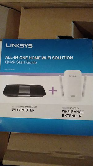 WiFi Router and Range Extender for Sale in Mesquite, TX