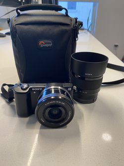 Sony A5000 camera plus lens for Sale in Denver,  CO