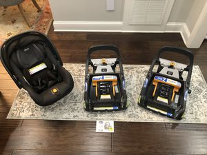 Chicco Fit2 Car Seat System with 2 Car Seat Bases for Sale in Lexington, KY