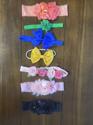 Baby girl hand band lot for Sale in Bakersfield, CA