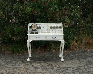 Shabby White Antique Writers Desk - Unique for Sale in Temecula, CA