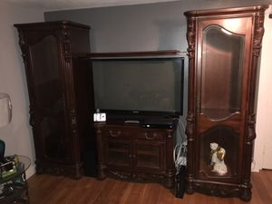 Tv entretainment center for Sale in Holyoke, MA