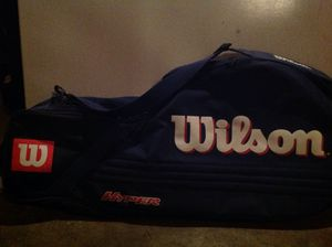 Brand new Wilson tennis racket carrying case for Sale in Fresno, CA