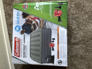 Air mattress queen size double tall Colman for Sale in Portland, OR