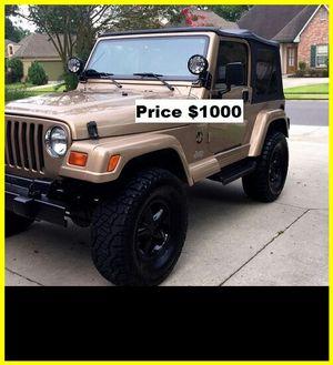 ֆ1OOO Jeep Wrangler for Sale in Sacramento, CA