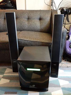 Teatro evolution evo5101 en buenas condiciones mu potente en sonido capacidad de 8 bosibas tiene radio FM am CD aux No bluetooth for Sale in UNIVERSITY PA, MD