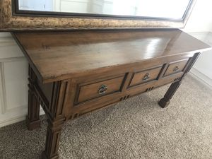 Beautiful Solid wooden console for Sale in Dallas, TX