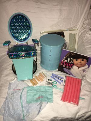 American Girl Doll Salon Chair, Caddy, and Accessories for Sale in Hillsboro, OR