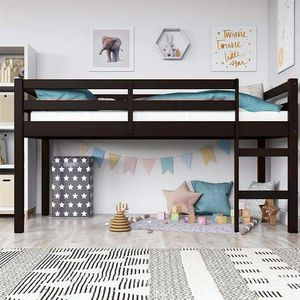 Dorel Milton Junior Twin Loft Bed New in Box (Espresso) for Sale in Las Vegas, NV