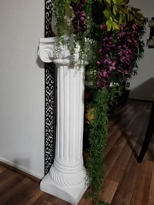 Two White Decorative Pieces 34 inches long new for Sale in Austin, TX