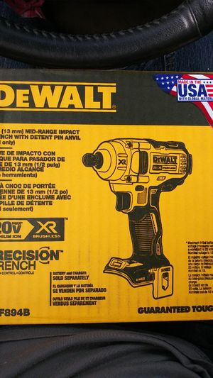 DeWalt 1/2 Mid range Impact Wrench with detent pin anvil for Sale in Denver, CO
