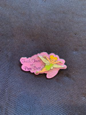 Faith, Trust, and Pixie Dust Tinkerbell pin for Sale in Kent, WA