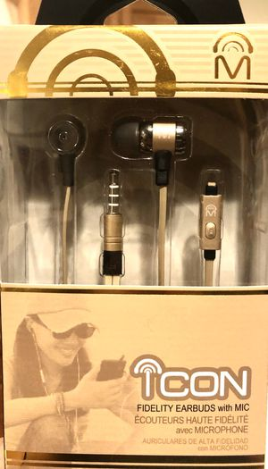 Mental Beats Icon Fidelity Earbuds with Mic for Sale in Raleigh, NC