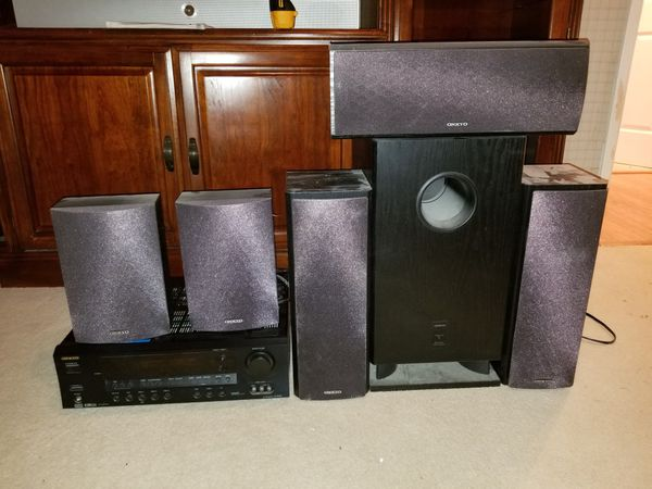 Onkyo reciever and speakers