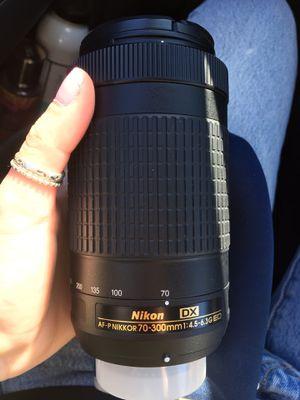 New Nikon Lense 70-300mm for Sale in Costa Mesa, CA
