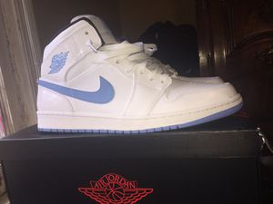 Air Jordan 1, white and legend blue size 12 for Sale in Cumberland, VA