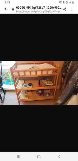 Changing table for Sale in Peabody, MA