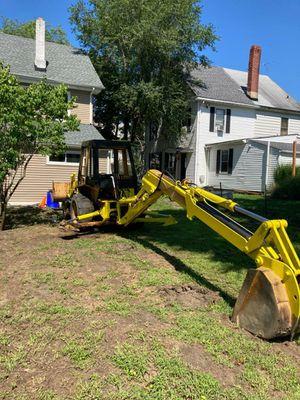 Tractor case backhoe extendable payloader diesel for Sale in Lumberton, NJ
