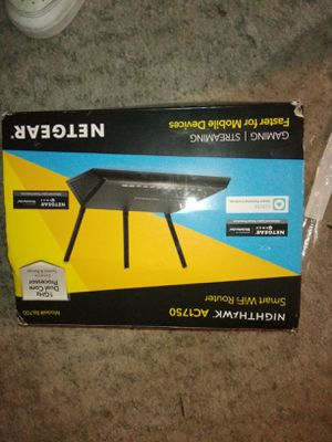 Nighthawk ac1750 smart wifi router for Sale in Brooks, OR