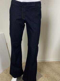 Ladies Express dark Jean wide leg sz 6 for Sale in Austin,  TX