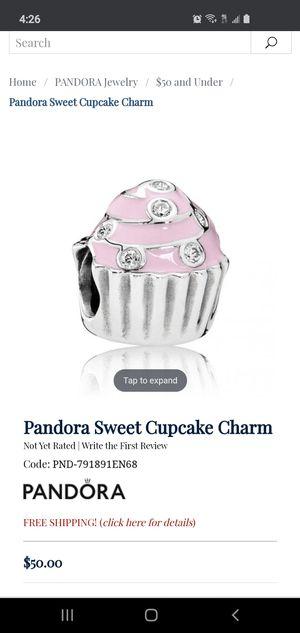Pandora charm 🧁 cupcake for Sale in Chicago, IL
