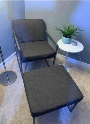 Accent Chair and Ottoman set for Sale in San Jose, CA
