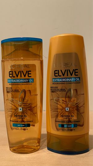 Loreal Extraordinary Oil shampoo & conditioner for dry hair: both for $3 for Sale in Alexandria, VA