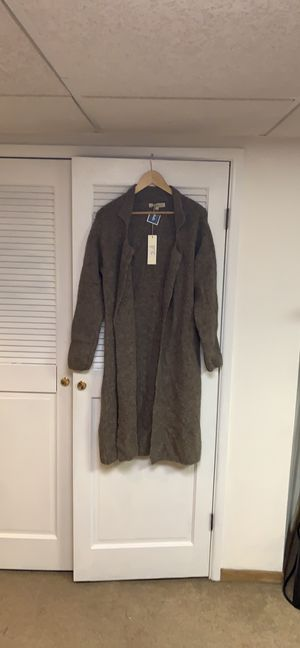 Lineamaglia open sweater cardigan a acrylic/nylon/wool/elastane blend size Large for Sale in Rye Brook, NY