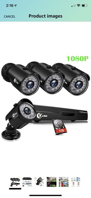 Security camera system for Sale in Fullerton, CA