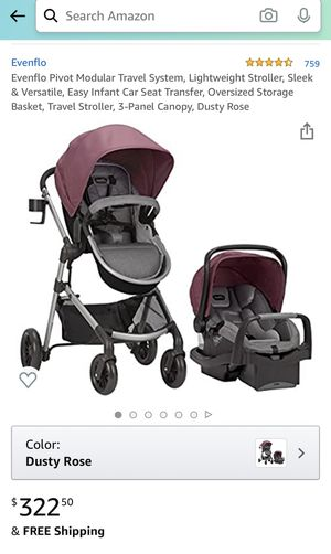Baby car seat and stroller for Sale in Allentown, PA