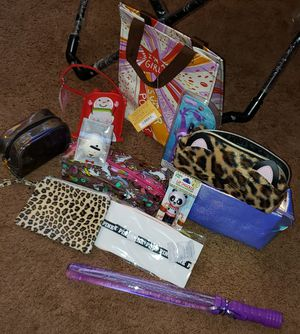 Girls makeup bags and lip balms for Sale in Rancho Cucamonga, CA