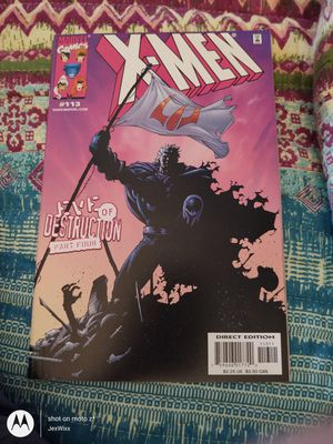 X-Men No 113 June 2001 Direct Edition for Sale in Walbridge, OH